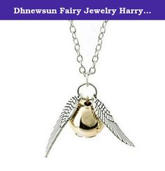 Dhnewsun Fairy Jewelry Harry Potter Golden Snitch Quicksilver Golden Pearl Necklace. Condition: 100% brand new Made From Professional Quality Material Color: As picture (real figure) It is so light that you don't even feel it when you put it on. Jewelry maintenance and Precautions stars if you are satisfied with our items and services. If you have any problems with our items or services, please feel free to contact us first before you leave negative feedback. We will do our best to solve…