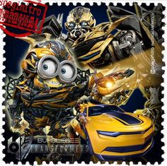 Transformer Minions ~ Bumblebee Minions Images, Minions Quotes, Minion Dress Up, Cute Minions, Minion Meme, Minion Characters, Yellow Guy, Fantasy Comics, Despicable Me