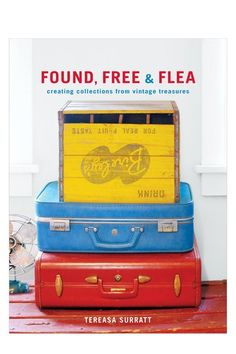 You need some old suitcases (or new that look vintage) somewhere in your new classroom.