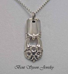Silver Spoon Jewelry, Fork Jewelry, Metal Jewelry, Beaded Jewelry, Handmade Jewelry, Unique Jewelry, Silver Spoons, Handmade Silver, Silver Rings