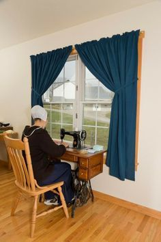 amish women  sewing | Simple Pleasures