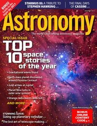 January 01, 2017 issue of Astronomy | Download digital magazine for free with your Mesa Public Library card.