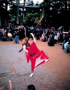 弥美神社例祭(5/1) 「王の舞」