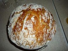 Home Recipes, Bread Recipes, Cooking Recipes, Czech Recipes, Kinds Of Desserts, Bread And Pastries, Happy Foods, How To Make Bread, Bread Baking