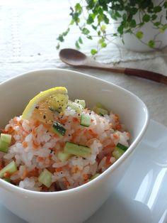 【瓶詰めレシピ】鮭レモンご飯。   美肌レシピ