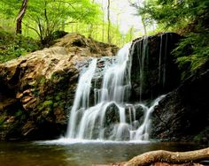 The ultimate Maryland waterfall road trip. #5 is not far from HoCo.
