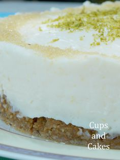 Lemon-lime cheescake