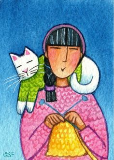 ❤ =^..^= ❤ 365 Cat Ladies and Friends: A Fun Collaboration