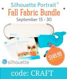 Exclusive Silhouette Portrait bundle! Available until Sept. 30. Click here: http://www.craftaholicsanonymous.net/september-promo