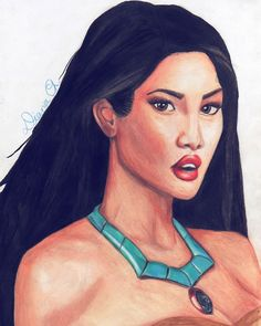 Pocahontas by Diana Chirescu Instagram: @dianaxxart Pocahontas, Diana, Disney Characters, Fictional Characters, My Arts, Profile, Photo And Video, Disney Princess, Painting