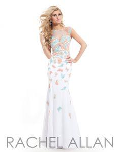 Rachel Allan 6827 Key Hole Back Prom Gown