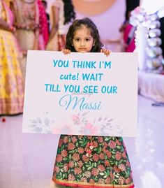 Adorable muchkin setting a beautiful bridal entry for her maasi. Wedding Photo Props, Pre Wedding Photoshoot, Wedding Shoot, Desi Wedding Decor, Wedding Stage Decorations, Bride Entry, Wedding Entrance, Entrance Decor, Wedding Badges