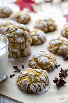 měkké dýňové cookies Food And Drink, Sweets, Cookies, Chocolate, Baking, Breakfast, Cake, Brownies, Blog