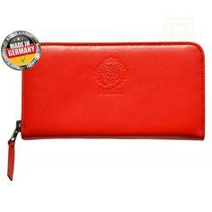 RFID Damen Geldbörse / Portemonnaie Bendito Julia Red, RFID Geld