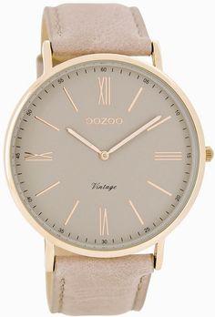 Oozoo Damen-Armbanduhr Analog Quarz Leder C7342: Amazon.de: Uhren
