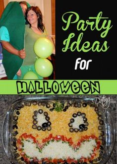 This simple Halloween party is sure to be a hit.  Click for the whole spook... er, I mean scoop!