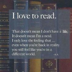 Books ♡ Yeah, this happens to me. I was reading Patrick Rothfuss' Kingkiller Chronicles and got so immersed that I kept believing I was in the world when I was experiencing real life.