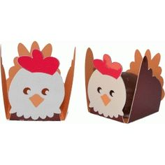 Silhouette Design Store - View Design #47968: treat holder chicken