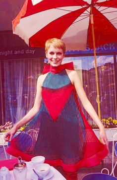 Mia Farrow loved her look since i can remember and still do