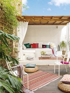 Eclectic Patio Flat + Roof + Design, Pictures, Remodel, Decor and Ideas - page 8