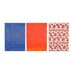 GILTIG Voorgeknipte stof IKEA Het patroon is een exacte kopie van het motief van de vormgever, omdat het digitaal is gedrukt