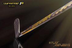 Prochainement disponible en France, la nouvelle collection de crosses Bauer Supreme - #Supreme1S #PlayExplosive 22.1.16