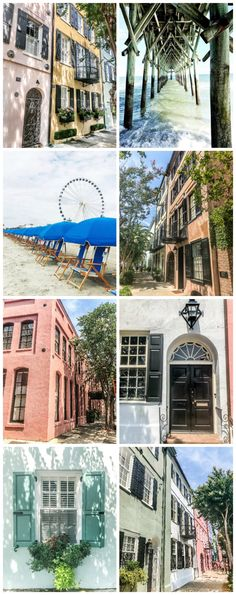 A set of 10 free coastal art photography prints from South Carolina that can be framed anywhere in your home. #printableart #travelphotography #printables