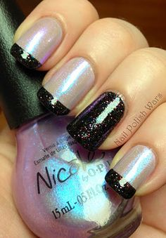 Sparkles all around #nails #nailart