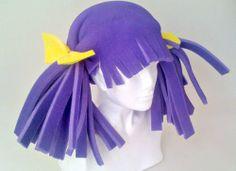 Sombreros De Hule Espuma Para Fiestas, Bodas Crazy Hat Day, Crazy Hats, Cute Crafts, Crafts To Do, Wacky Hair Days, Junie B Jones, Foam Wigs, Mannequin Art, Wig Hat