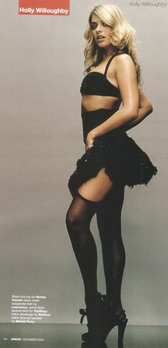 Holly Willoughby in black stockings with black slingbacks Holly Willoughby Legs, Celebrities In Stockings, Celebrity Stockings, Stockings And Suspenders, Black Stockings, Tv Presenters, Beautiful Celebrities, Beautiful Females, Gorgeous Women