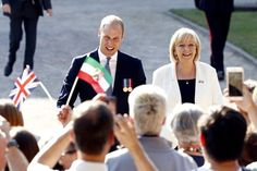 Pin for Later: Prince William Is Delightfully Charming During His Visit to Germany