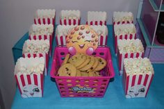 Jayla's Shopkins 8th Birthday Party! | CatchMyParty.com