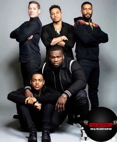 The cast of the hit TV show graces the latest cover of Vibe Magazzine.  Michael Rainey, Power Tv Show, Starz App, Power Starz, Dope Swag Outfits, Vibe Magazine, Omari Hardwick, Latest Music Videos, Hip Hop News