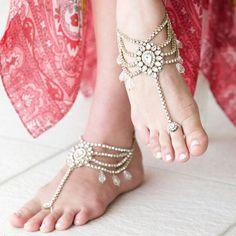 Indian wedding anklets