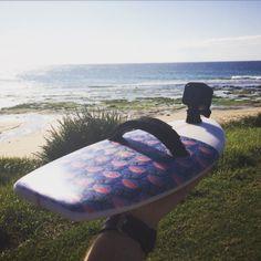 Bodysurf Handplane with the GoPro session 4