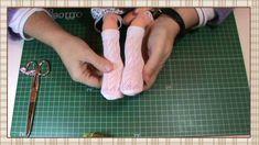 Tutorial muñeca waldorf: Calcetines