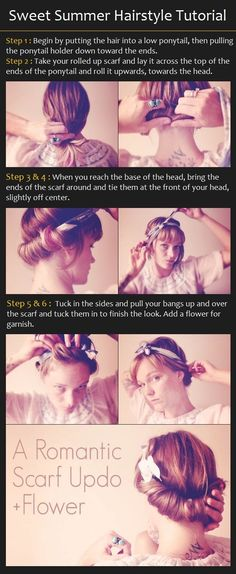 Sweet Summer Hairstyle Tutorial |From weddings to patios, this simple & sweet summer updo is perfect for sun-infused days! Find out how to get the look in our easy summer updo tutorial.