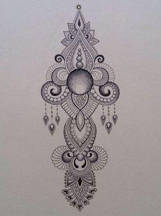 Drawing Anoushka Irukandji 2014 www.irukandjidesigns.bigcartel.com