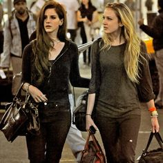 Lana Del Rey and her sister Chuck