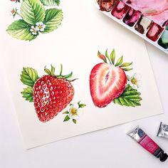Watercolorist: @sunn_days #waterblog #акварель #aquarelle #drawing #art #artist #artwork #painting #illustration #watercolor #aquarela