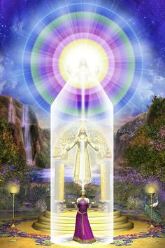 Bible guide for the New Age based primarily on the Teachings of the Ascended Masters including Jesus and Saint Germain as well as other sources. Bible Guide, Les Chakras, Mandala, Ascended Masters, Mystique, Visionary Art, New Age, Love And Light, Sacred Geometry