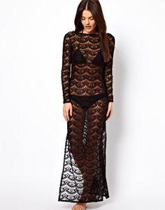 ASOS Lace Maxi Beach Dress