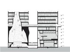 Patrimonio Industrial Arquitectónico: Silos abandonados transformados en un gimnasio de escalada. Amsterdam