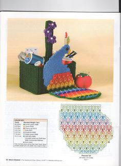 Plastic Canvas Christmas, Plastic Canvas Crafts, Plastic Canvas Patterns, Peacock Canvas, Canvas 5, Yarn Crafts, Needlepoint, Cross Stitch Patterns, Projects To Try
