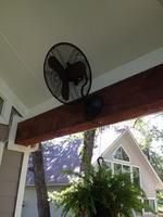allen + roth Outdoor Air Mover Fan at Lowe's. This outdoor wall mount fan is perfect for outdoor entertaining. Install on your porch or patio and enjoy year round comfort. Outdoor Wall Fan, Outdoor Walls, Indoor Outdoor, Outdoor Furniture, Pink Bathroom Vintage, Outside Patio, Patio Wall, Wall Fans, The Gables