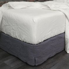 Our Linen Fitted Sheets will last for years, growing softer and lovelier with time. Our fitted bed sheets are available in king, queen, single, double and more sizes. Queen Bed Sheets, Fitted Bed Sheets, Linen Sheets, Linen Bedding, Bed Linens, Linen Pillows, Comforter, Luxury Bedding Collections, Luxury Bedding Sets