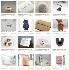 Spring to Fall: Personal - Etsy Valentine Gifts (our favourite Valentine's Day gifts on Etsy, treasury)