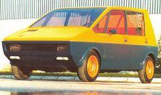 1972 Peugeot 204 Taxi H4 Concept (Heuliez)
