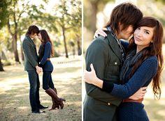 Engagement shoot - i like the left one