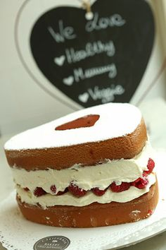 Valentine's Raspberry Cake by California Bakery